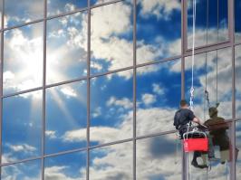 Lavado de vidrios